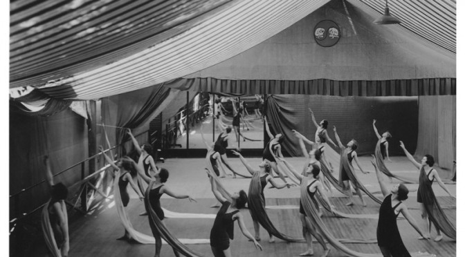 Class at Denishawn in West Lake Park, Los Angeles, c. 1918. Featured on page 15 of my book. photo courtesy: Jacob's Pillow Dance Festival Archives.